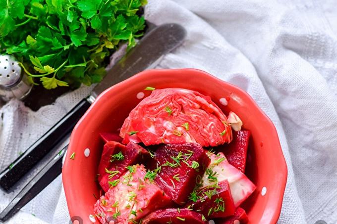 Georgian cabbage