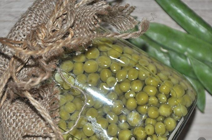 peas without sterilization