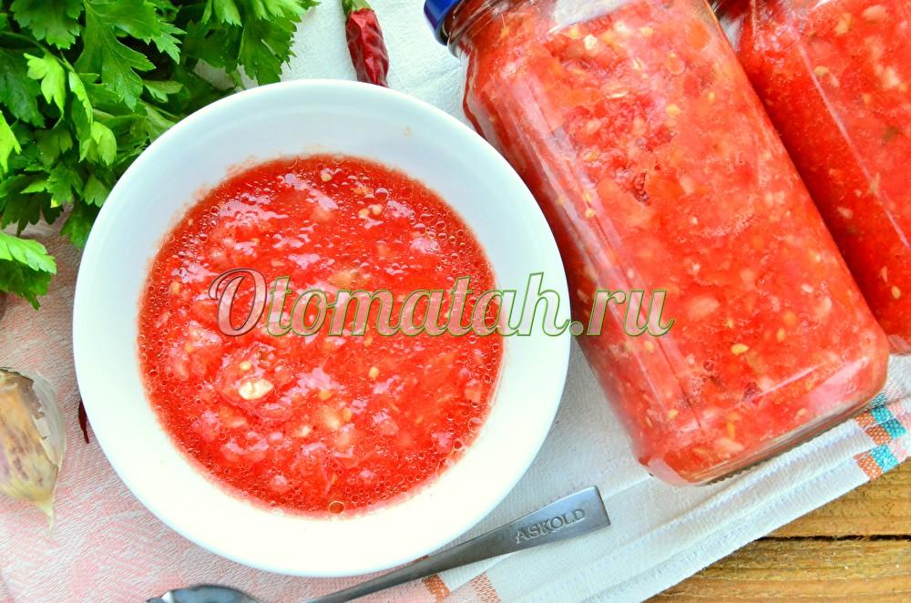 Adjika de tomate
