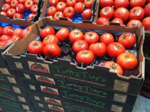 stockage de tomates