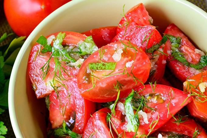 Корейски снаксов домат