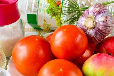 Съставки за сладки домати