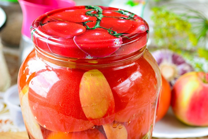 Сладки домати за зимата
