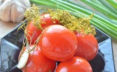 Salted tomatoes