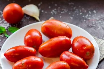 tomates propres