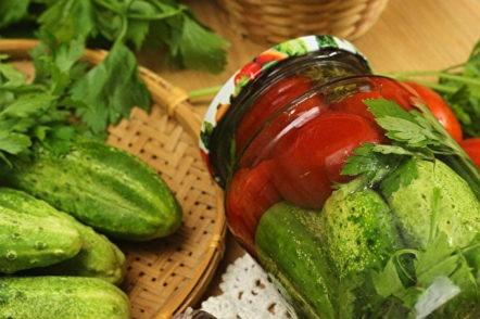 plateau de légumes pour l'hiver