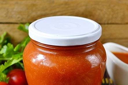 tomato ketchup for the winter