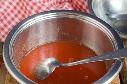 Приготвяне на доматен сок