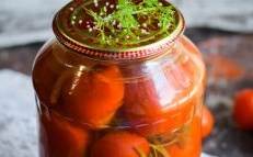 Marinade for tomatoes