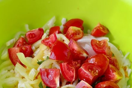 Sliced ​​Tomatoes