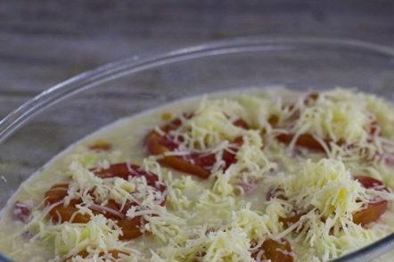 Saupoudrer de fromage