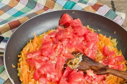 ajout de tomate