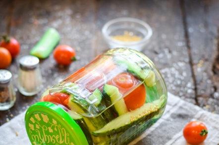 сортирани кисели зеленчуци