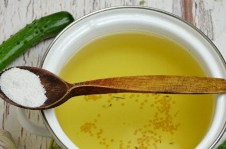 марината от сол и захар