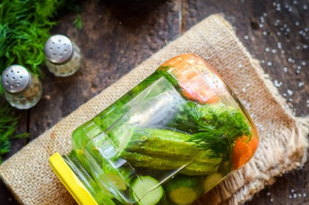 How tasty to pickle cucumbers for the winter in crispy jars