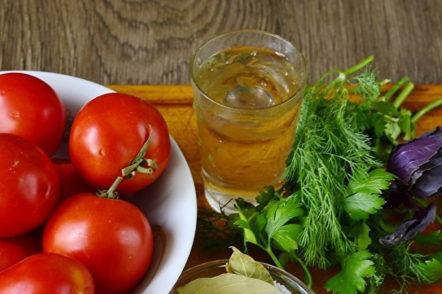 tomates pour la recette