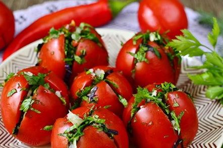 Tomates à la mode arménienne, la recette instantanée la plus délicieuse