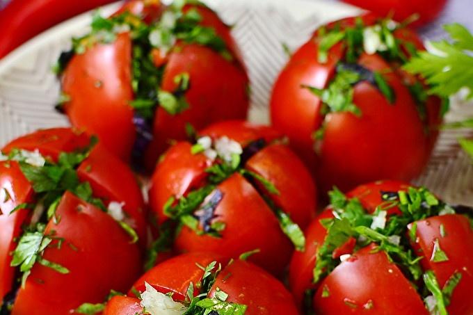 Fast tomatoes in Armenian