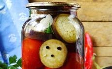tomates aubergines