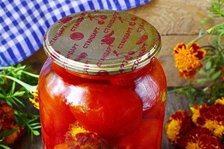 tomates pour l'hiver
