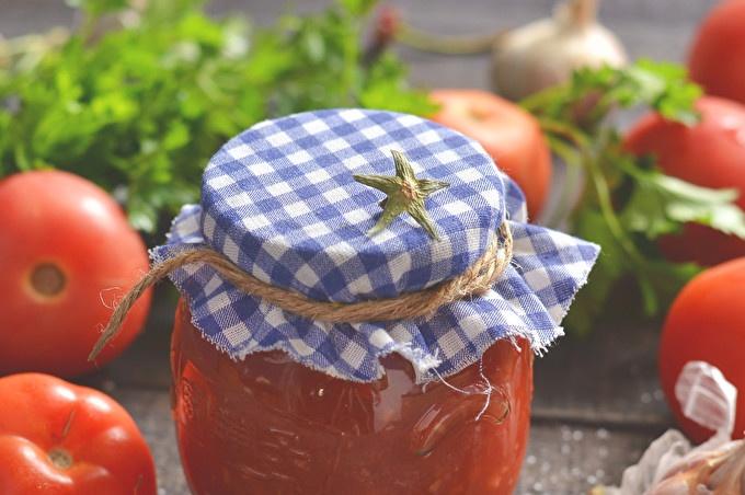 Tomates râpées à l'ail