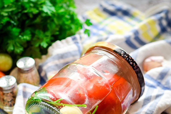 Parsley Tomatoes