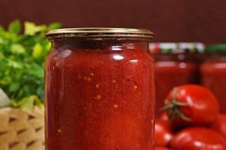 домати в собствения си сок