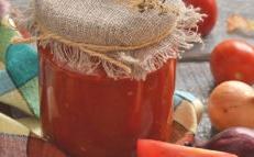 tomato sauce is ready
