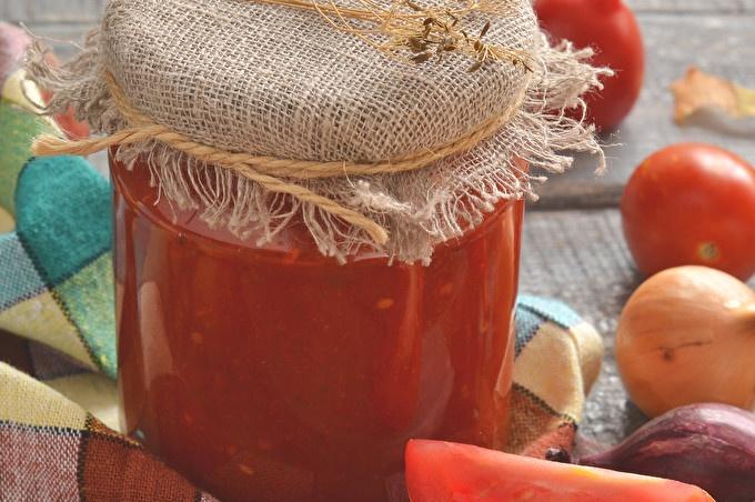 la sauce tomate est prête