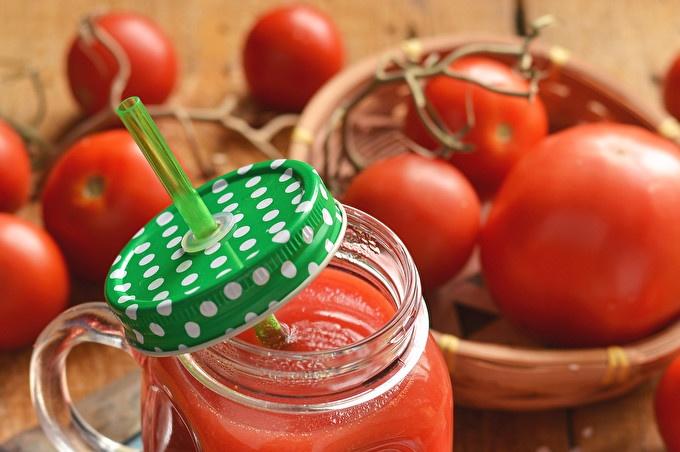 доматен сок с пулп