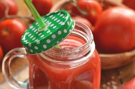 готови доматен сок за зимата