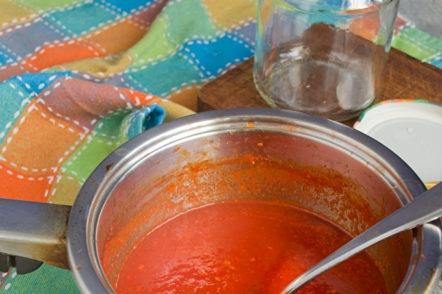 sauce boil