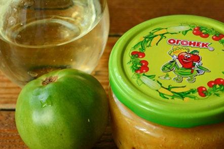 jar of tasty caviar