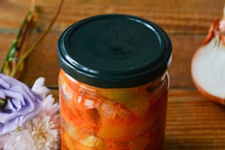 a jar of delicious lecho