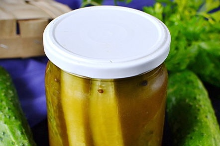 pickled cucumbers for winter