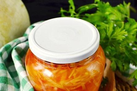 pot de salade de légumes