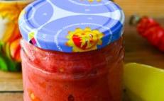 adjika tomatoes