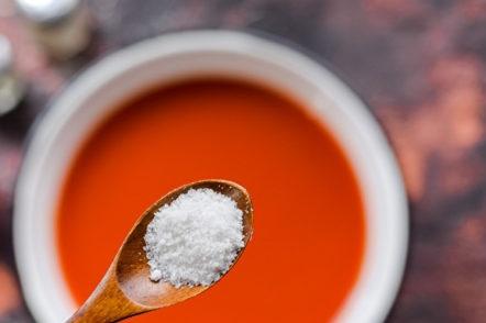 jus de sel et de sucre