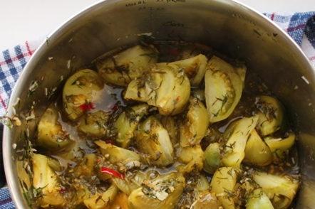 boil vegetables