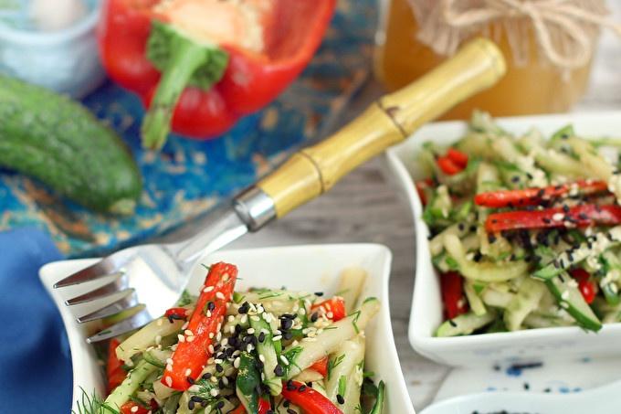 Cucumber salad in Thai