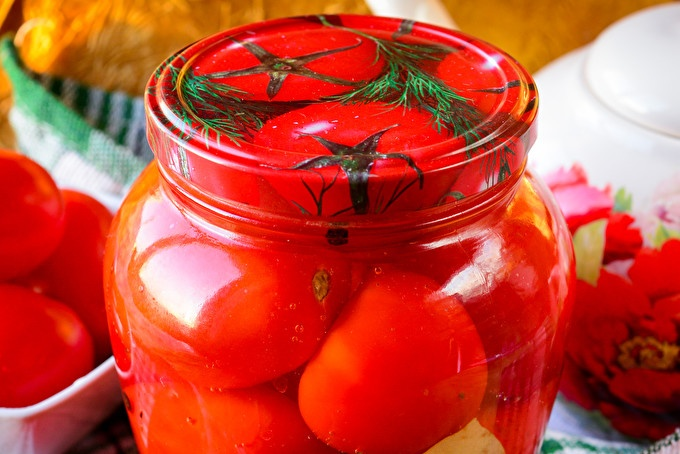 Солени домати