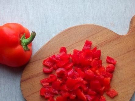 chopped pepper