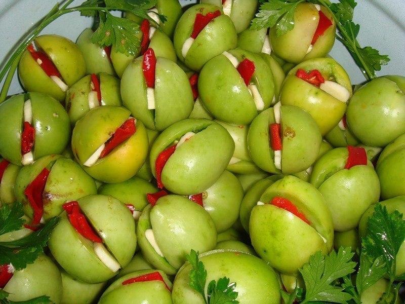 stuffed green tomatoes