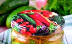 Корейски краставици за зимата