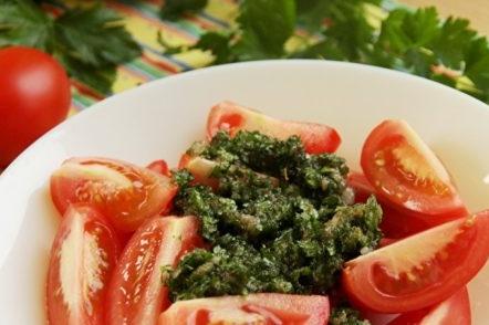 Ajouter aux tomates