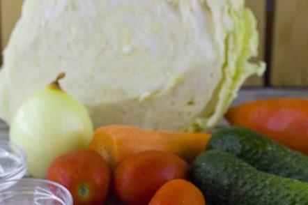 ingrédients de la salade