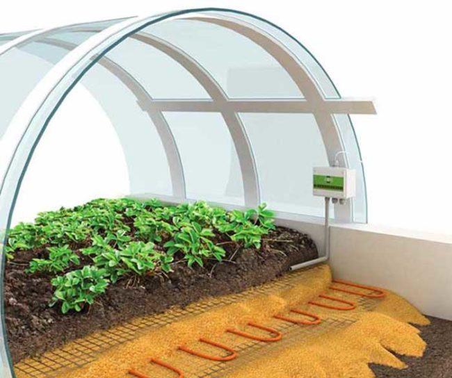 greenhouse insulation option