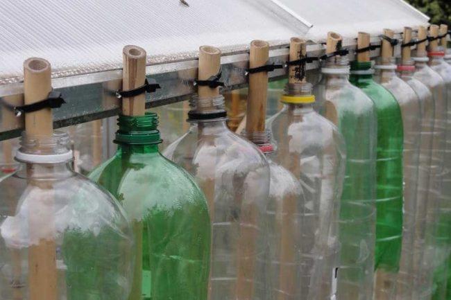 къща за бутилки