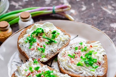 sprinkle with green onions