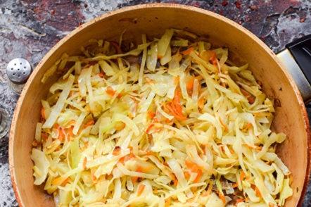 faire frire les légumes